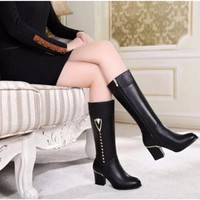Giày boot cao cổ nữ B038- F3979.COM