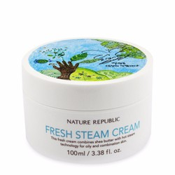 Kem dưỡng ẩm Nature Republic Shea Butter Steam Cream