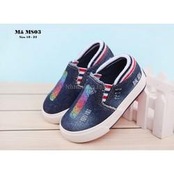 Giày lười cá tính cho bé trai 1-3 tuổi MS03 kiểu dáng thời trang