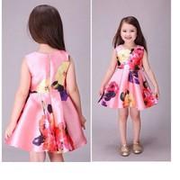 Đầm bông hoa dễ thương bé gái CX266