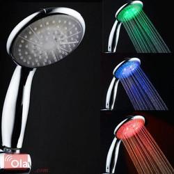 Vòi sen phát sáng đổi màu cảm biến nhiệt