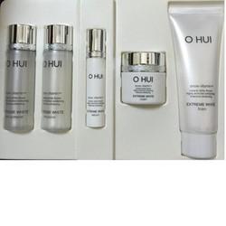 Bộ Ohui Extreme White 5sp dưỡng trắng da, chống lão hóa