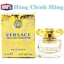 Nước hoa nữ mini VERSACE Yellow Diamond EDT 5ml - NH42