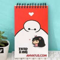 Sổ tay hoạt hình dễ thương