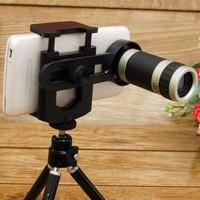 Bộ chân đế Tripod và Lens Tele zoom 12x cho điện thoại