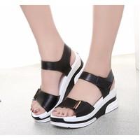 Giày sandal bánh mì cá tính S026D