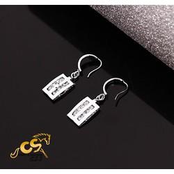 Bông tai inox nữ thời trang đẹp giá rẻ - BT232
