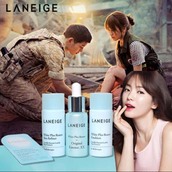 Set dưỡng trắng da Laneige white plus renew trial kit 4 items 3