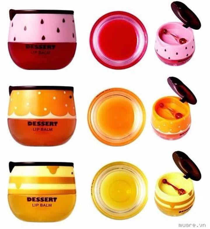 Son dưỡng môi Dessert Lip Balm The Face Shop 3