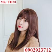 Tóc Giả Nữ Hàn Quốc Tặng Lưới - TH20