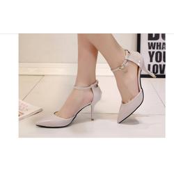 Sandal nữ cao gót, kiểu dáng mới nữ tính, màu sắc trẻ trung, mẫu hè