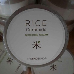 Kem Dưỡng Da Gạo Rice Ceramide Moisture CCream The Face Shop