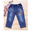 [Bevadochoi]-Sinh nhật Sendo-Quần Jeans Thêu Chất Đẹp