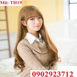 Tóc Giả Nữ Hàn Quốc Tặng Lưới - TH19