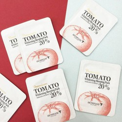 SAMPLE MẶT NẠ NGỦ SKINFOOD PREMIUM TOMATO WHITENING SLEEPING PACK