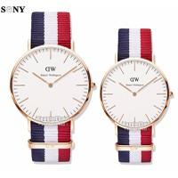 SONY-SINH NHẬT SENDO-Đồng hồ đôi dây vải dù DW - DW232FMc