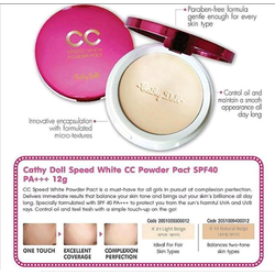 Phấn CC Powder Pact Speed White Cathy Doll