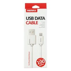 Cáp Lightning - USB Remax 1M cho iPhone 5 6 và iPad