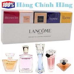 Bộ 5 nước hoa nữ mini LANCÔM Eau De Parfum - NH6