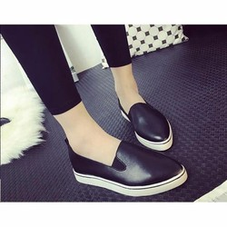 Giày Slipon da size 38