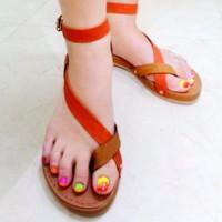 Giày Sandal Xỏ Ngón Nữ Dễ Thương