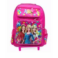 Balô công chúa Barbie vali kéo cùng bé đến trường