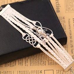 Vòng đeo tay nữ thời trang, kiểu dáng mới độc đáo, mẫu Hàn mới