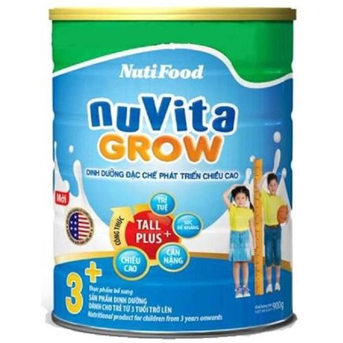 Sữa Nutifood NuVita Grow 900g trẻ từ 3 tuổi trở lên - 3925470 , 3106904 , 15_3106904 , 180000 , Sua-Nutifood-NuVita-Grow-900g-tre-tu-3-tuoi-tro-len-15_3106904 , sendo.vn , Sữa Nutifood NuVita Grow 900g trẻ từ 3 tuổi trở lên