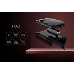 Tivi androi box HD23 hỗ trợ thu phát video trực tuyến