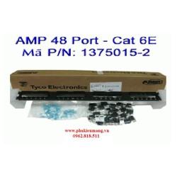 Thanh đấu nối mạng Patch Panel TE Nhân rời 1375015-2, 48-Port CAT6