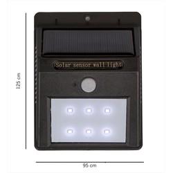 Đèn tường cảm biến năng lượng mặt trời
