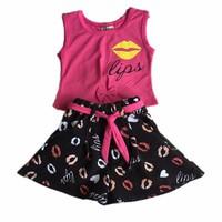 Bộ áo thun+ váy SUBI-15
