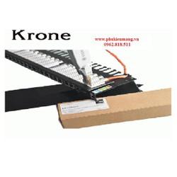 Thanh đấu nối mạng Patch Panel Krone Cat 5E, Có đèn hiển thị.
