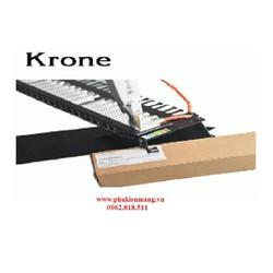 Thanh đấu nối mạng Patch Panel Krone Cat 6E, Có đèn hiển thị