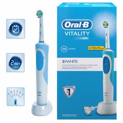 Bàn chải điện Oral-B Vitality 3DWhite Braun 2D Action