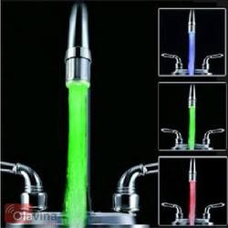 Vòi nước phát sáng đổi màu cảm biến nhiệt