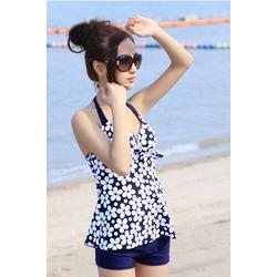 Xinh Xinh - Sinh nhật Sendo - Đồ bơi short hoa cực xinh BK-069
