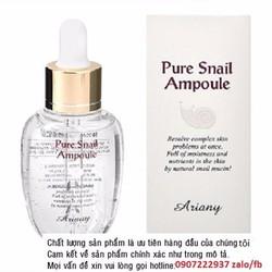 Tinh chất tái tạo da ốc sên Pure Snail Ampoule 50ml