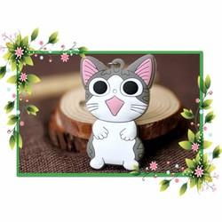 Móc khóa Mèo Chii bằng nhựa dẻo