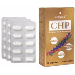 Viên uống dưỡng da Sakura CHP Enhanced Beauty Nutraceuticals