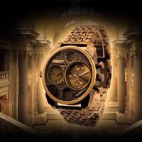 Đồng hồ Oulm dây đá DHK035
