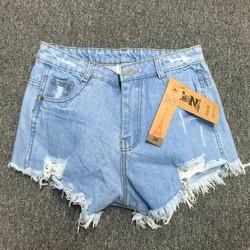 Quần short jeans nữ rách
