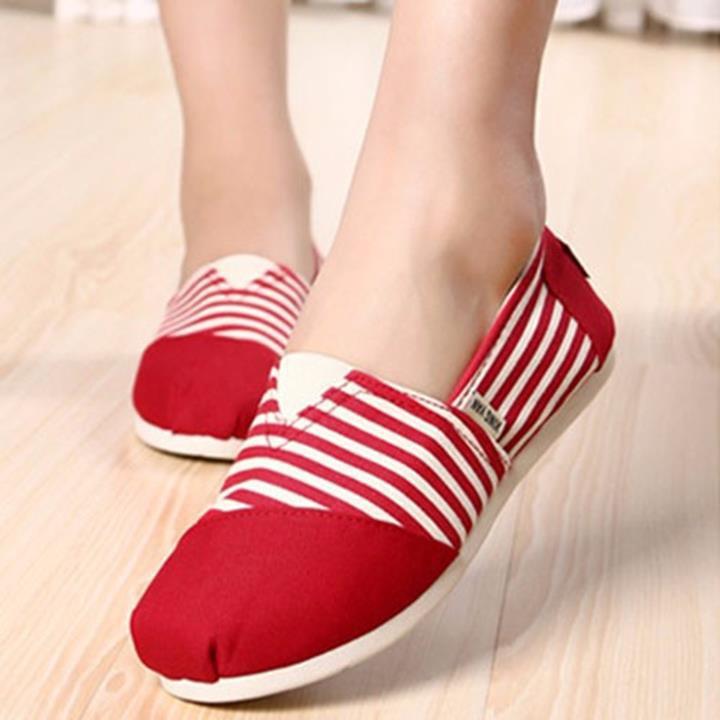 giày nữ kiểu dán đơn giản cá tính cho nàng tung tăng thổi máy-158 7