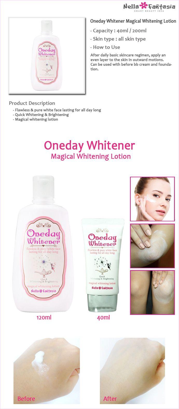 Kem Dưỡng Trắng Da Oneday Whitener Magical Whitening Cream Korea 3