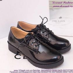 Giày oxford nữ da bóng phong cách sành điệu GUBB165