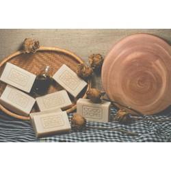 Xà phòng dầu dừa gạo handmade
