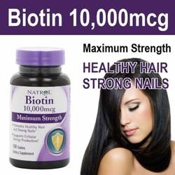 Kích Thích Mọc Tóc và Ngăn Rụng Tóc - Biotin 10.000 mcg