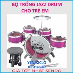 Bộ Trống Jazz Drum CHO Trẻ  Em Từ 3 Đến 6 Tuổi