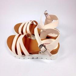 Giày sandal nữ 3 quai ngang