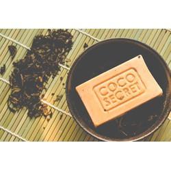 Xà phòng dầu dừa trà đen handmade